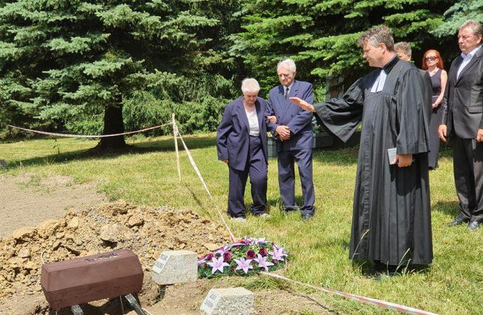 Na vojnovom cintoríne Háj Nicovô uložila rodina exhumované ostatky desiatnika Michala Chleba