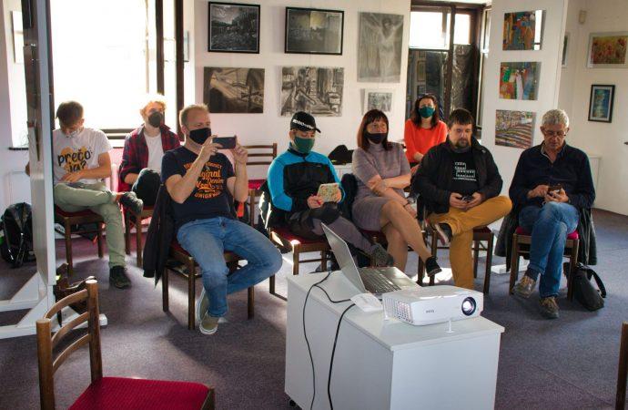 V Liptovskom kultúrnom stredisku sa konal prvý vzdelávací workshop z cyklu Filmový proces