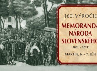 Memorandum národa slovenského oslávi 160 rokov