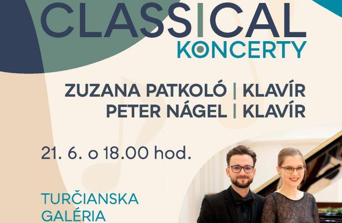 Pozývame vás na koncert klavírneho dua Zuzany Patkoló a Petra Nágela