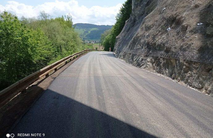 Prístupová cesta do obce Bziny v smere z Dolného Kubína opätovne začala slúžiť doprave