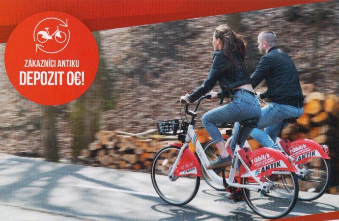 Bikesharing nájdete už aj v Zborove nad Bystricou