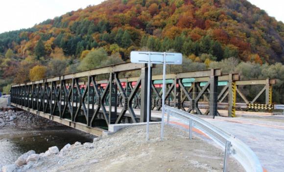 Rekonštrukcia premostenia rieky vo Vraní