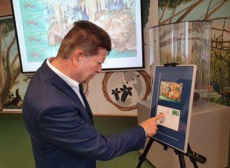 Pri príležitosti stého výročia objavenia Demänovskej jaskyne slobody vydali poštovú známku