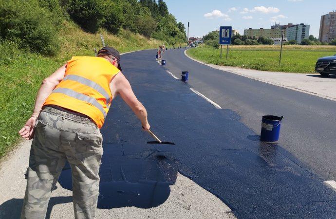 Slovenská správa ciest začala s úpravami vozovky pri výjazde z Trstenej