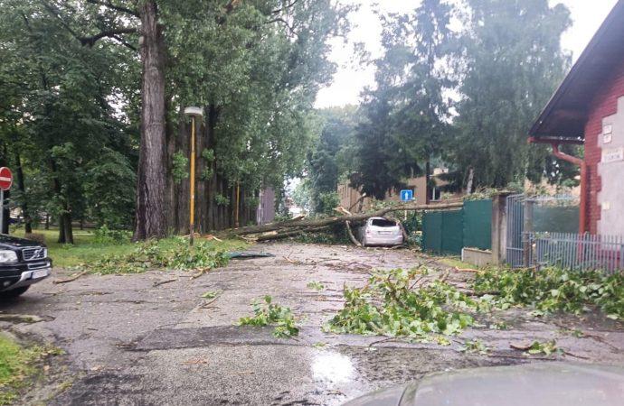 Územím Žilinského kraja sa v stredu podvečer prehnala silná búrka