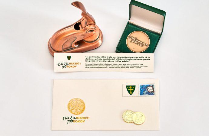 Pred 700 rokmi dostala Žilina najstaršie privilégiá, mesto vydalo spomienkové mince i obálku