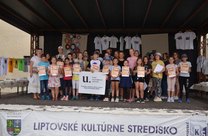 V Liptovskom kultúrnom stredisku sa konal denný detský remeselný tábor Šikovníček