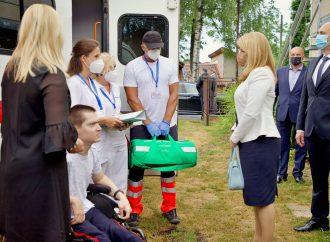 Prezidentka Zuzana Čaputová sa zúčastnila výjazdového očkovania Môj ŽSK