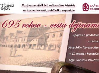 Kaštieľ Radoľa pozýva na cestu dejinami Kysuckého Nového Mesta