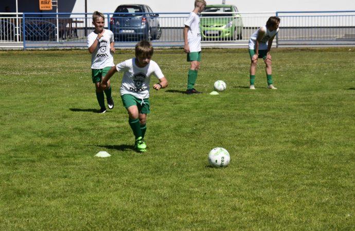 Škola futbalu 2021 v Krásne nad Kysucou našla talenty