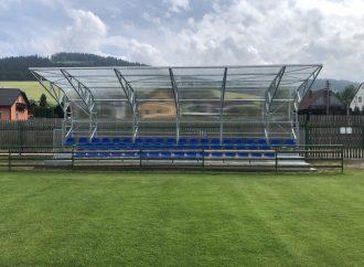 Výstavba novej tribúny TJ SPARTAK Vysoká nad Kysucou
