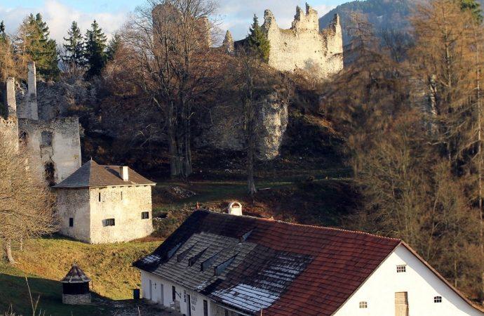 Čarovné bylinky a hradné povesti na hrade Sklabiňa