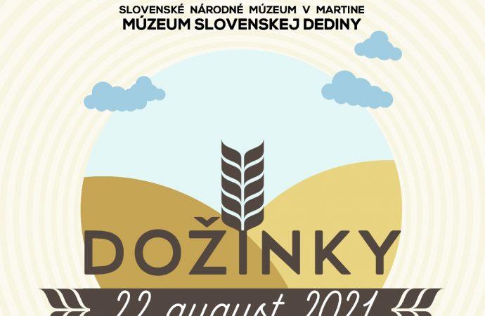 Ukážky poľnohospodárskych prác a dožinkové slávnosti v Múzeu slovenskej dediny