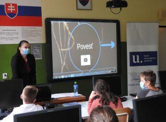 Deti zo ZŠ Povina a ZŠ Kysucký Lieskovec sa dozvedeli o zaujímavostiach zo sveta povestí