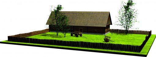 Kaštieľ Radoľa predstavuje ako sa kedysi žilo v stredovekej dedine