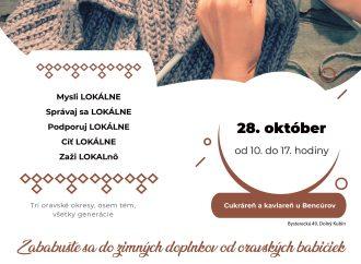 Festival LOKALnô – pletenie, háčkovanie a štrikovanie
