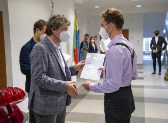 Na župnom úrade sa udeľovali ocenenia DofE