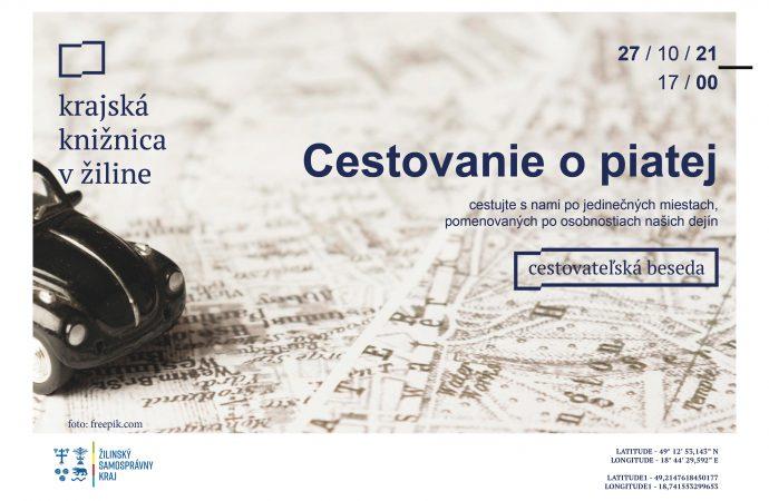 Aktuálne pozvánky na podujatia Krajskej knižnice v Žiline