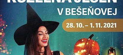 Kúzelná jeseň v Bešeňovej od 28.10.do 1.11.2021